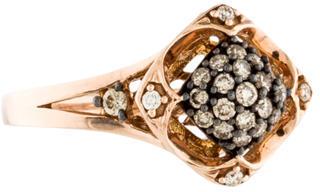 Le Vian 14K Diamond Cocktail Ring $675 thestylecure.com