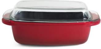 "Crock Pot Crock-pot Edmound 16.25"" Rectangular Roaster with Cast Glass Lid"