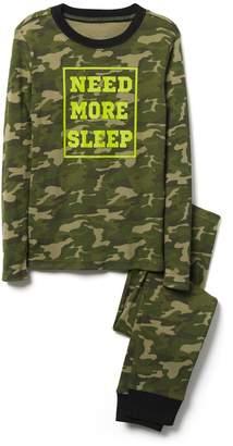 Crazy 8 Crazy8 Need More Sleep 2-Piece Pajama Set