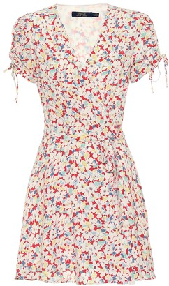 Polo Ralph Lauren Floral wrap dress