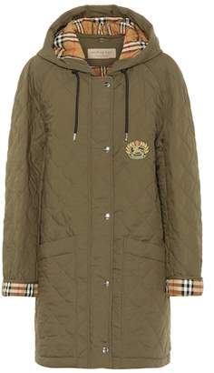 Burberry Lightweight quilted parka