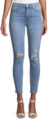 Hudson Blair High-Waist Super Skinny Ankle Jeans