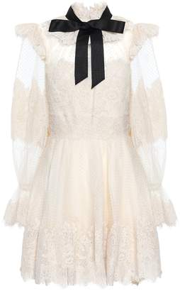 Zimmermann Espionage lace minidress