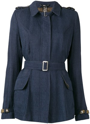 Gianfranco Ferre Pre-Owned 2000's belted jacket