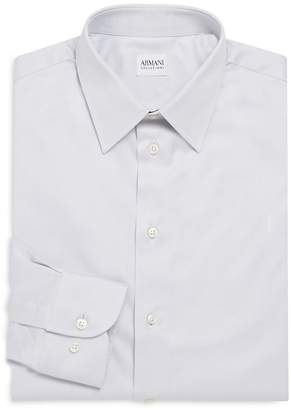 Armani Collezioni Men's Point-Collar Modern-Fit Dress Shirt