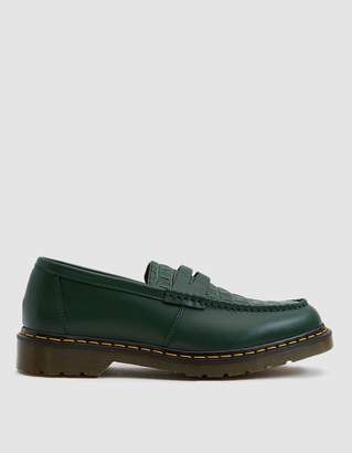 Dr. Martens x Stussy Penton Loafer in Green