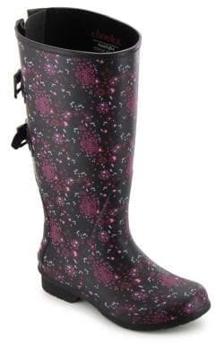 Chooka Zuri Versa Wide Calf Rubber Tall Rain Boots