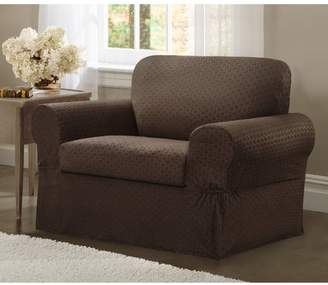 Darby Home Co Box Cushion Armchair Slipcover Set
