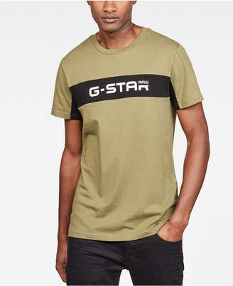 G Star Men's Colorblocked Logo Graphic T-Shirt, Created for Macy's