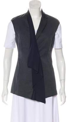 Brunello Cucinelli Silk & Denim Vest