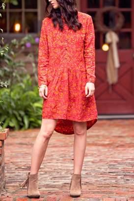 Batik High-Low Dress