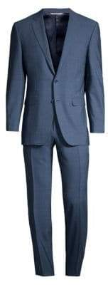 Canali Wool Twill Single-Breasted Suit