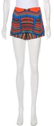 Alexis Printed Mini Shorts