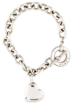 Lagos Heart Charm Bracelet