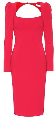 Rebecca Vallance Briar crêpe cutout dress