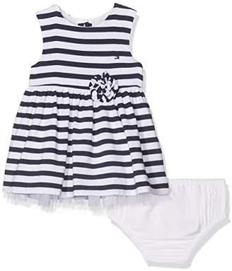 Tommy Hilfiger Stripe Baby Girl Dress Slvls