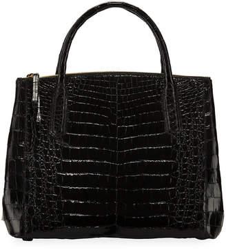 Nancy Gonzalez Nix Medium Zip Crocodile Tote Bag