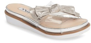 Women's Nina Garda Bow Slide $68.95 thestylecure.com