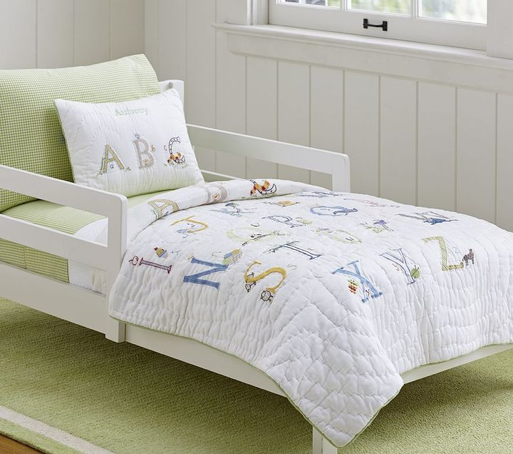 Pottery Barn Kids ABC Toddler Bedding