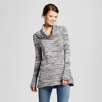 Women's Marled Cowlneck Sweater Tunic - Heather B $59.99 thestylecure.com