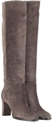 Jimmy Choo Madalie 80 suede boots