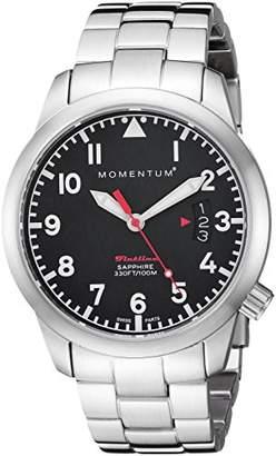 Momentum Women's 'Flatline 36' Quartz Stainless Steel Casual Watch