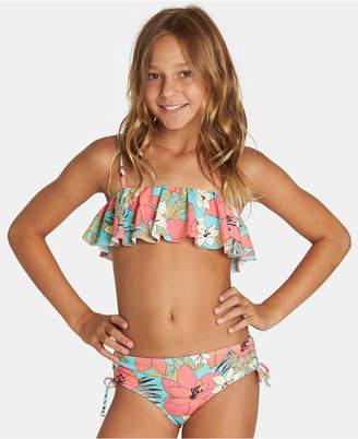 Billabong Big Girls 2-Pc. Aloha Sun Flutter Bikini