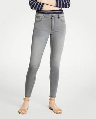 Ann Taylor Petite Curvy Skinny Jeans In Mid Grey Wash