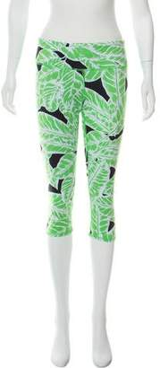 Alo Yoga Printed Mid-Rise Leggings w/ Tags