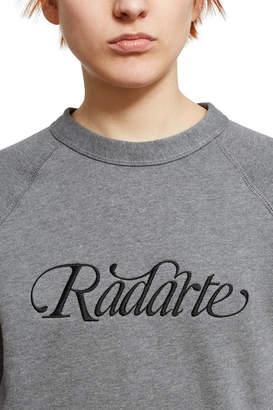 Rodarte Radarte Script Sweatshirt