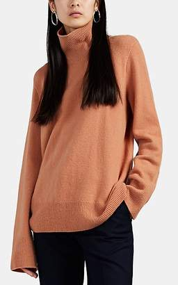 The Row Women's Milina Wool-Cashmere Turtleneck Sweater - Peach
