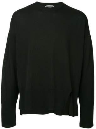 Wooyoungmi oversized crew neck sweater