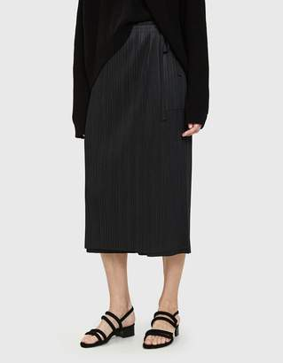 Pleats Please Issey Miyake Wrap Front Pant