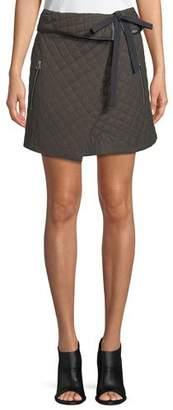 Rag & Bone Jane Self-Tie A-Line Skirt