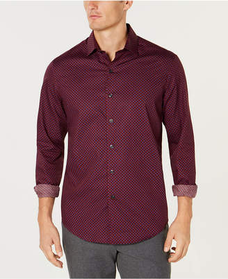 Tasso Elba Men's Cherchio Geometric Print Shirt
