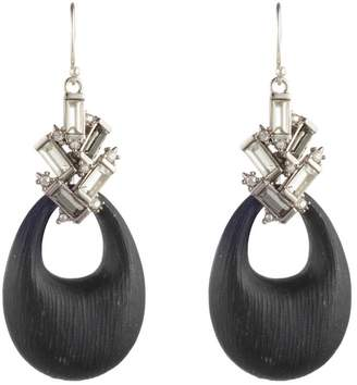 Alexis Bittar Winter Paisley Crystal Baguette Cluster Drop Earrings