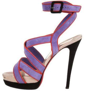 Christian Louboutin Strappy Platform Sandals