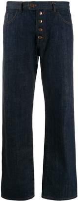 Jean Paul Gaultier Pre-Owned 90's denim jeans with stripe detail