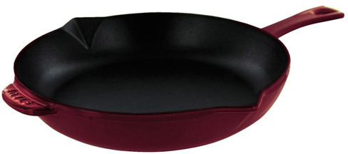 Staub Cast Iron Frying Pan, 10-1/4 inch