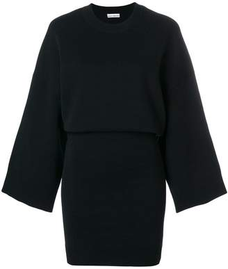Paco Rabanne fitted skirt jumper dress