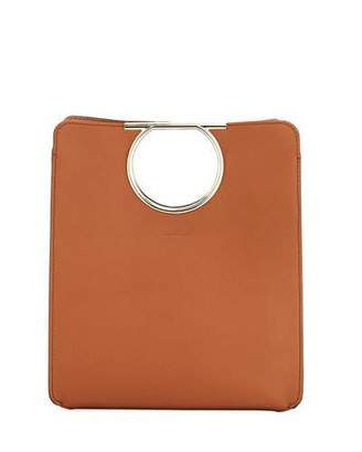 Salvatore Ferragamo Medium Gancio Cutout Tote Bag