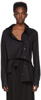 Ann Demeulemeester Black Asymmetric Shirt