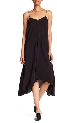 Tibi V-Neck Silk Slip Dress