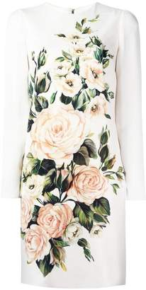 Dolce & Gabbana floral bouquet print dress