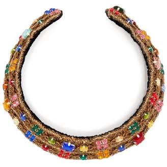 Rebecca De Ravenel - Carmen Embellished Collar - Womens - Multi