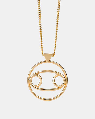 Karen Walker Cancer Zodiac Necklace