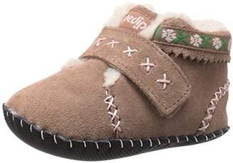 pediped Rosa, Baby Girls' Walking Baby Shoes, Beige (Gingersnap), Baby UK (20 EU)
