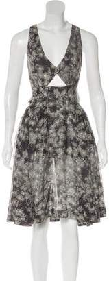 Stella McCartney Printed A-Line Dress