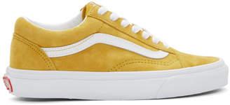 Vans Yellow Suede Old Skool Sneakers