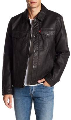 Levi's Classic Faux Leather Trucker Jacket